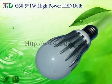 G60 4X1W High Power LED Bulb
