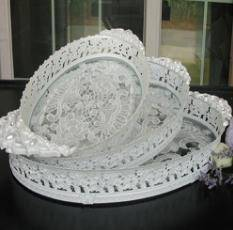 Ruby Home Deco Tray