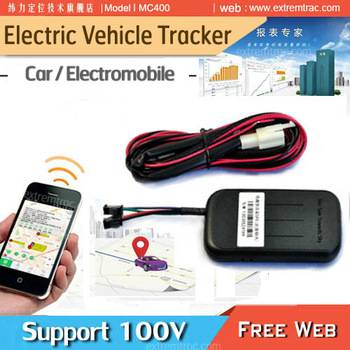 High Voltage electric car Sedan Electric bicycle Motorcycle GPS Tracker