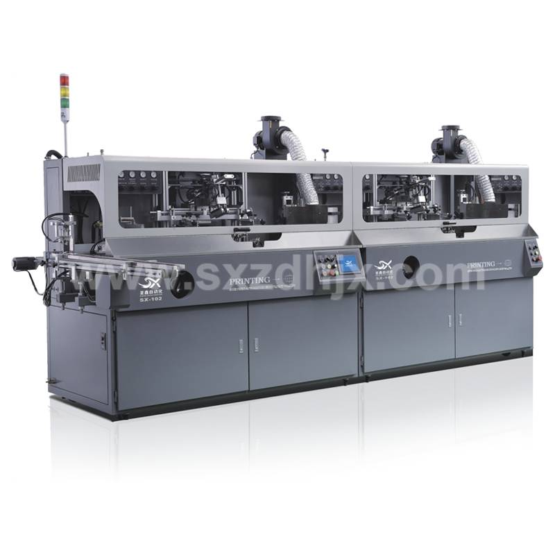 Automatic Multicolor Cylinder Silk Screen Printing Machine