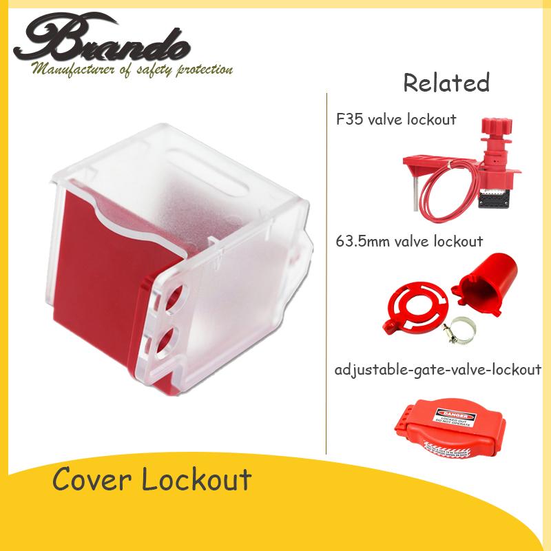 BO-D54 new design emergency stop lockout fix on screw emergency stop button