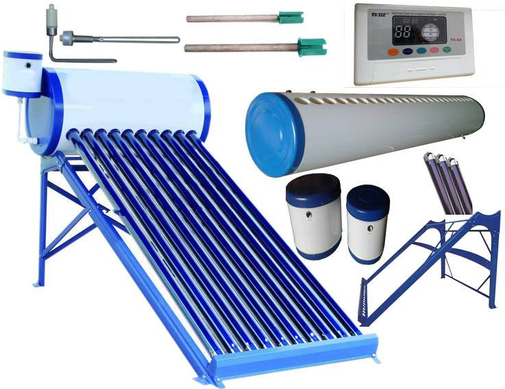 Integrative non Pressurized Solar Water Heater (Solar Water Heating System)