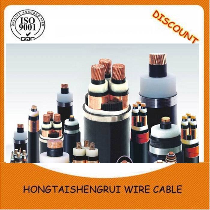 3.6/6kV  8.7/15kV 18/30kV 21/35kV XLPE Insulated SWA Armoured PVC Sheathed MV Cable