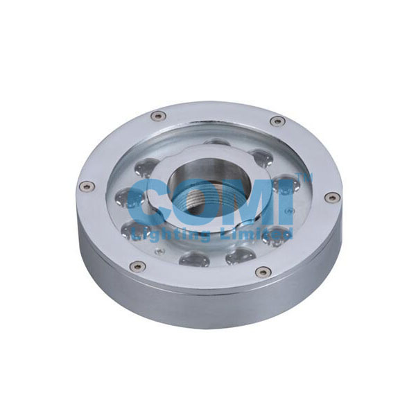 CB4J0916 And CB4J0918 IP68 9X2W LED Central Ejective Pool Fountain Light, Completely stainless steel