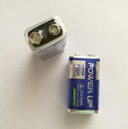 9V carbon zinc battery for electronic product