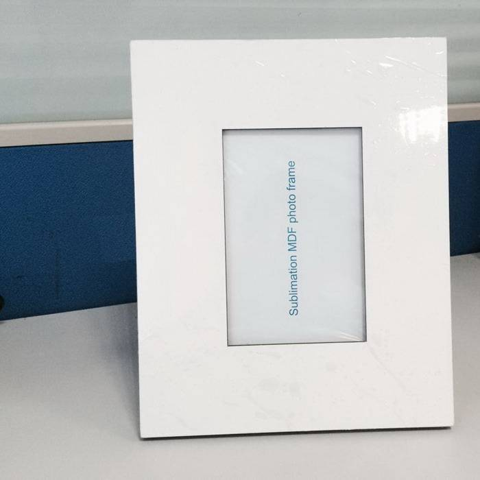 blanks MDF photo frame sublimation printing