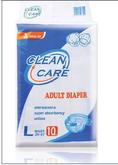 Economic disposable adult diaper in bales