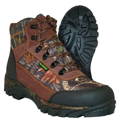 Leather upper mountaineering boots hiking boots