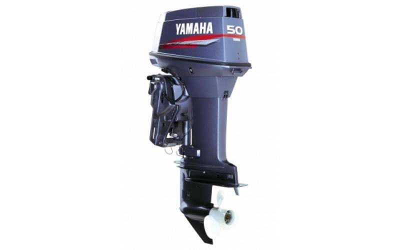 YAMAHA 50HETL 2 STROKE 50HP LONG SHAFT CV OUTBOARD