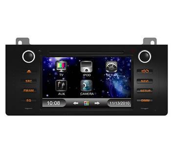 BMW5 (E39)/ E38/ E53 car tracking system player with GPS/Bluetooth/TV/3G/iPod