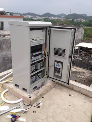 DDTE008  One Compartment OutdoorTelecom Cabinet, Battery Cabinet, Telecom Power System Cabinet, IP55