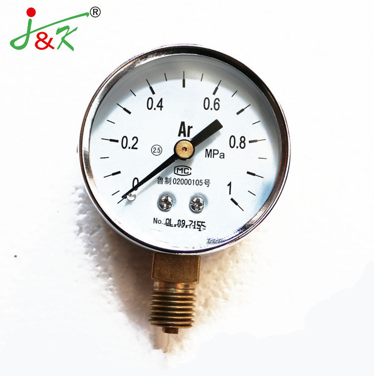 Hot Sales Common Type Argon Pressure Gauge by Factory Directly