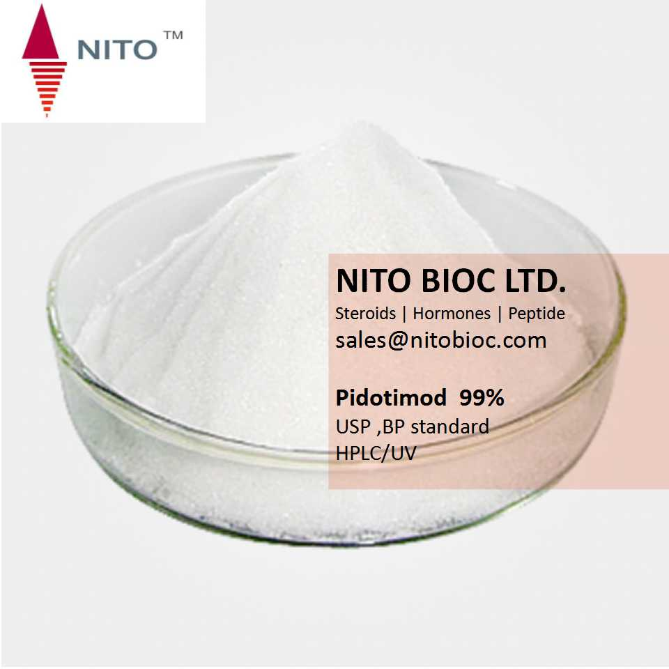 Factory Quality Control, Strong Steroid Powder;Pidotimod with CAS NO:121808-62-6