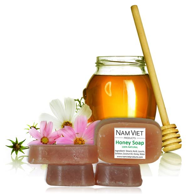 Natural Organic Skin Care Handmade Honey Soap