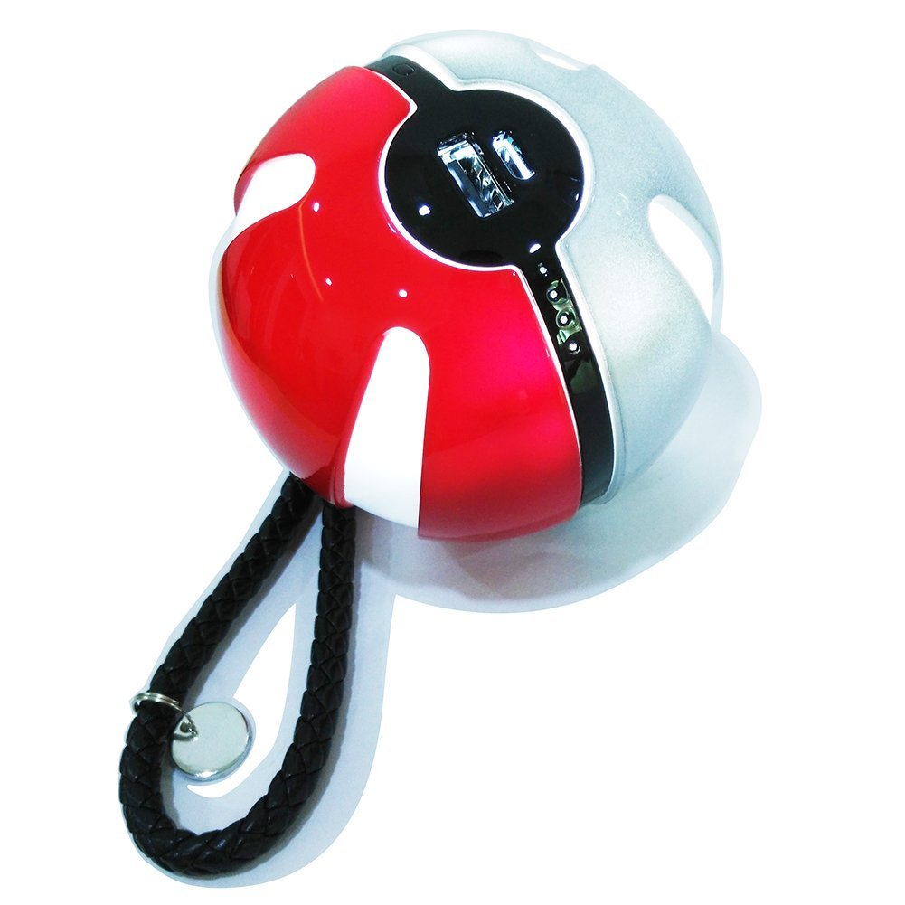 Pokemon go pokeball power bank 10000mAh with night lamp