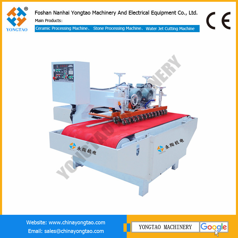 YT1000 two blades cnc continuous tile cutting machine