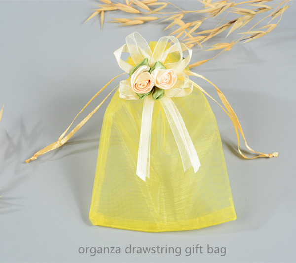 small organza gift pouch