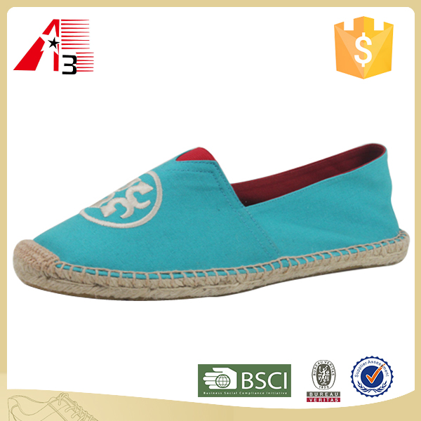 factory china cheap price canvas jute sole men woman espadrilles