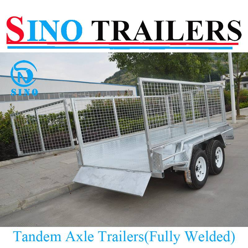 Fully Welded & Heavy Duty Box & Cable Disc Brake Tandem Trailers
