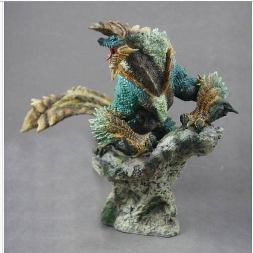 Hot! 200mm Anime Capcom Monster Hunter Ray Wolf Jinouga Figure Builder Standard