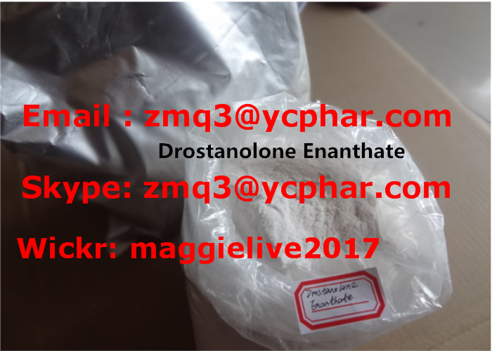 99.9% Purity Muscle Buidling Steroid Powder Drostanolone Enanthate CAS 13425-31-5