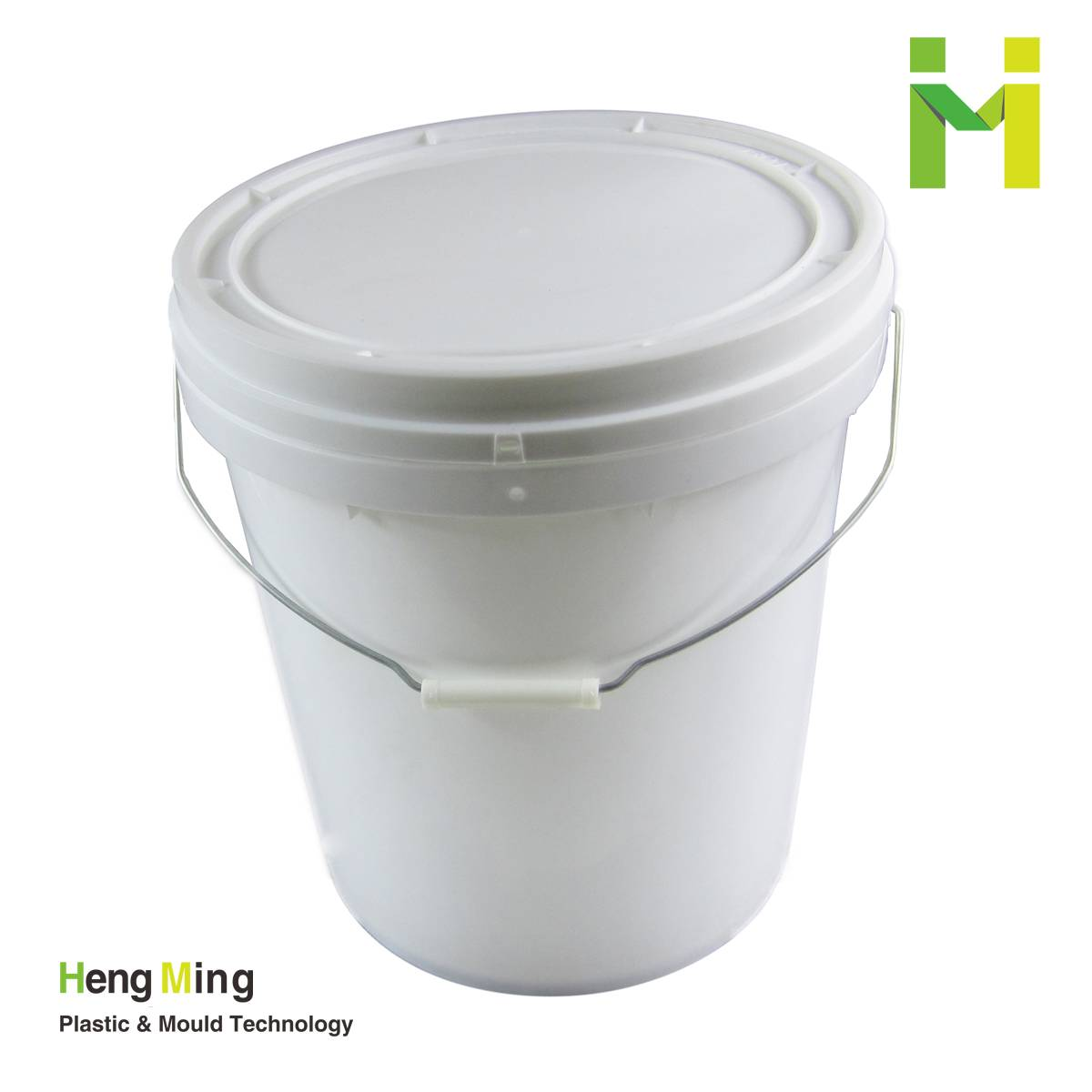 25L 6.5gallon food storage plastic bucket