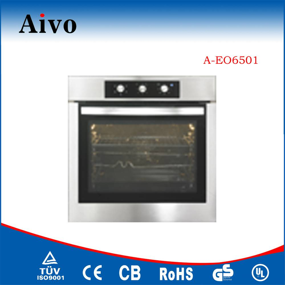 Home Appliances 60cm new style touch screen 65L Built in Electric Oven