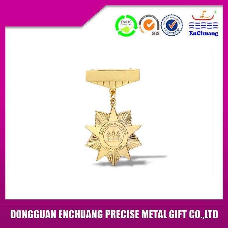 Economical die casting badge BA-0840