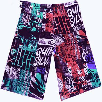 Billabong  digital print men boardshort fabric supplier
