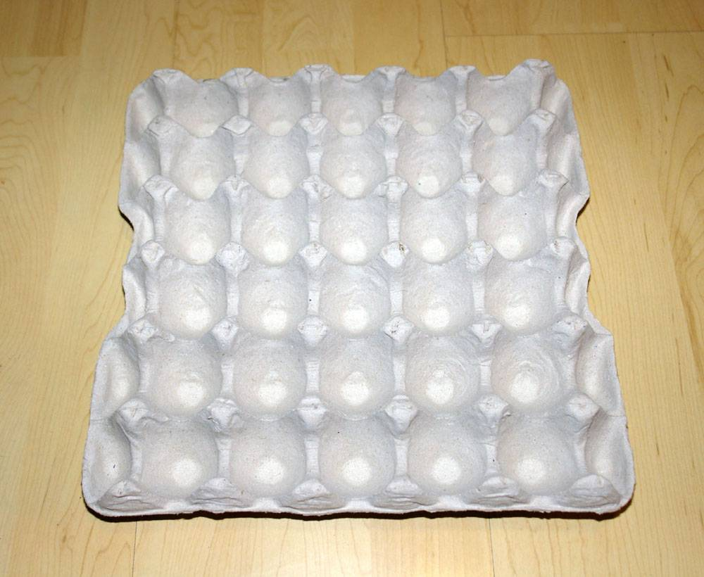 Paper Pulp Egg Tray For 20,30 Eggs