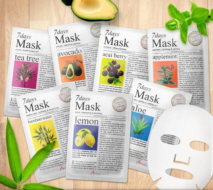 Ariul 7 days 7 mask set