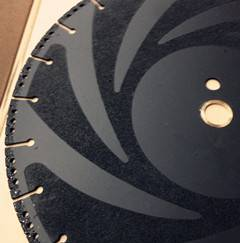 Diamond Vacuum Blade for Cutting Stone Rubber Roof Wood