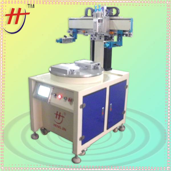 HS-260PME/2 Electric precise touch panel screen printing machine
