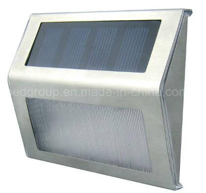 Mini Brightness Solar LED Wall Mounted Lightings LED Solar Stair Light