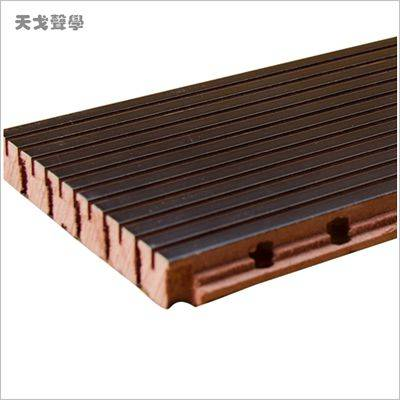 High density wall panel for KTV