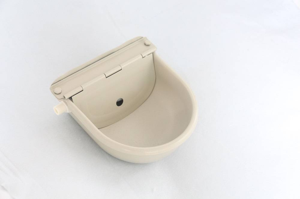 Stainless steel electrophoresis Cow Horse Water Drinking Bowl