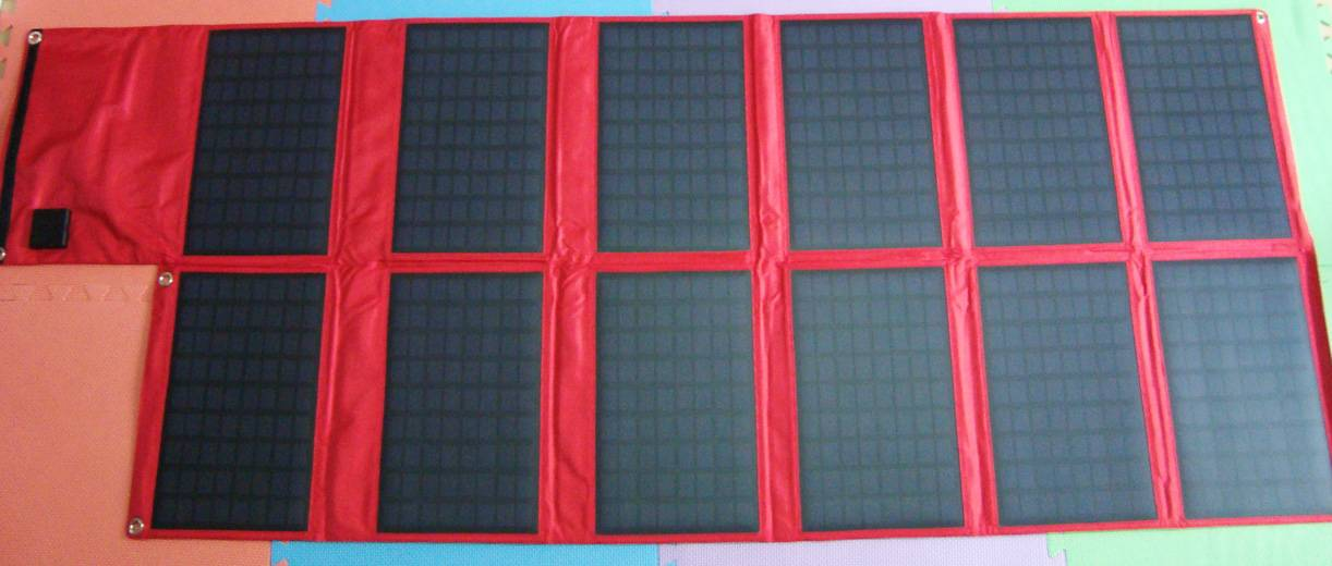 120watt solar foldable universal bag charger CY-120W
