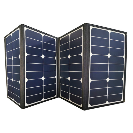Portable solar panel charger DC / USB output foldable solar charger 50w to 120w for camping RV