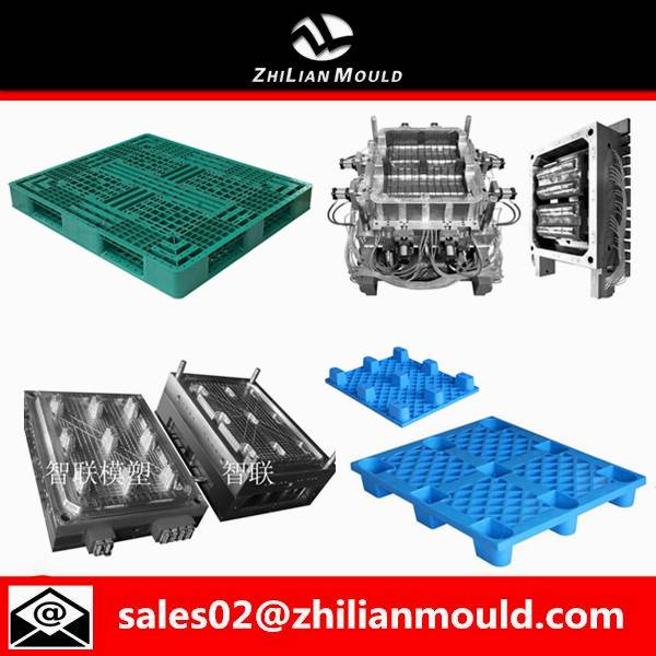 Zhejiang durable injection plastic pallet mould for hot sale