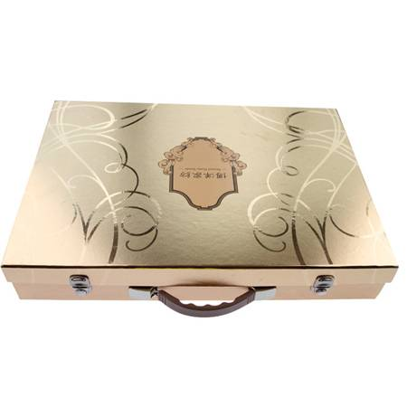 Cardboard Bed Sheet Packaging Box with Handle