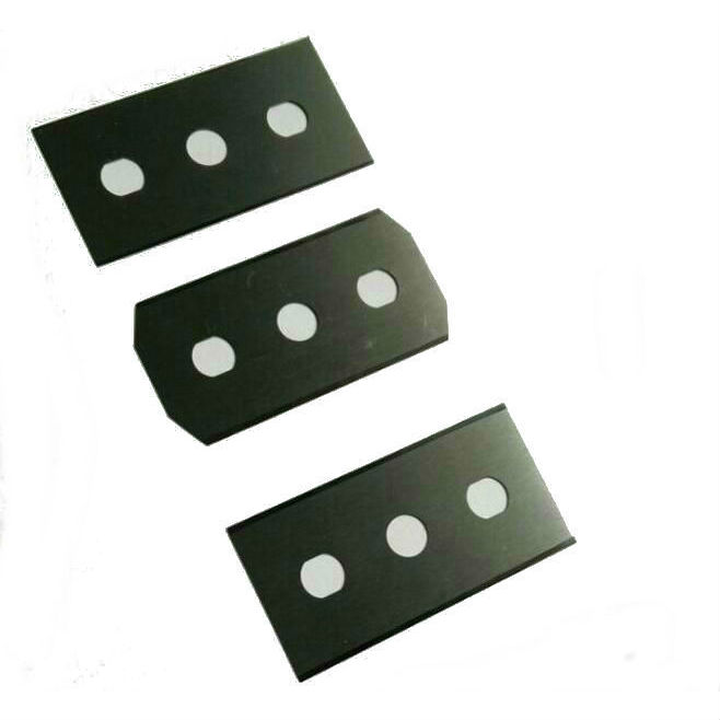 Tungsten carbide 3 hole blade