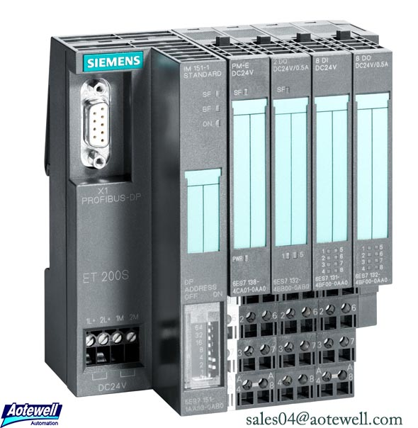Siemens ET200 Distributed I/O Simatic ET200 Module