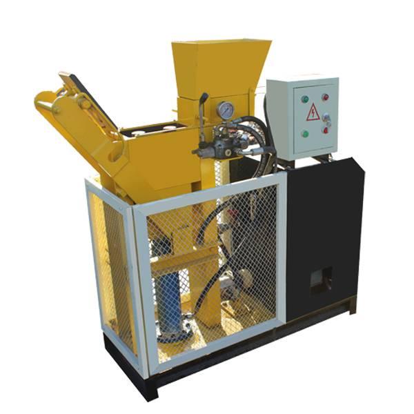 WT1-25 Eco block machine for tijolos eco bricks