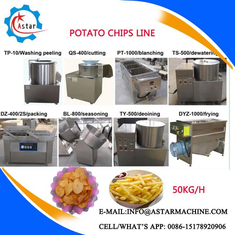 Hot Sale Potato Peeler |Potato Chips Cutting Machine For Sale