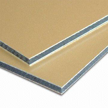Aluminum composite board inspection