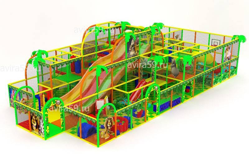 Indoor playground Jungle World