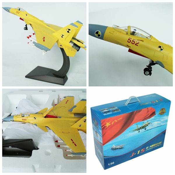 1:50 China's J-15 Carrier Figther Model