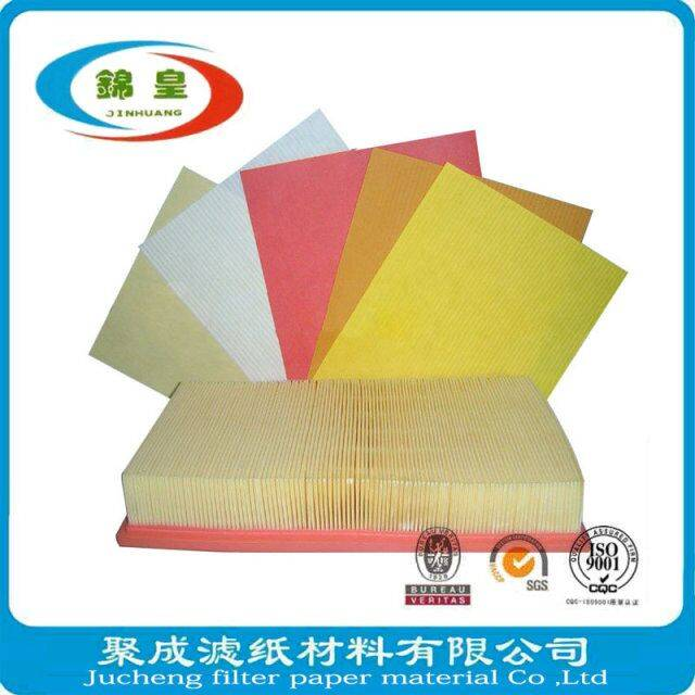 Auto industry filter paper for engine filteration