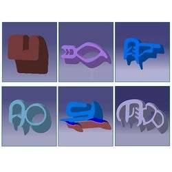 extruded rubber seal profile