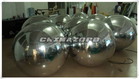 Inflatable mirror ball for party or events decorations